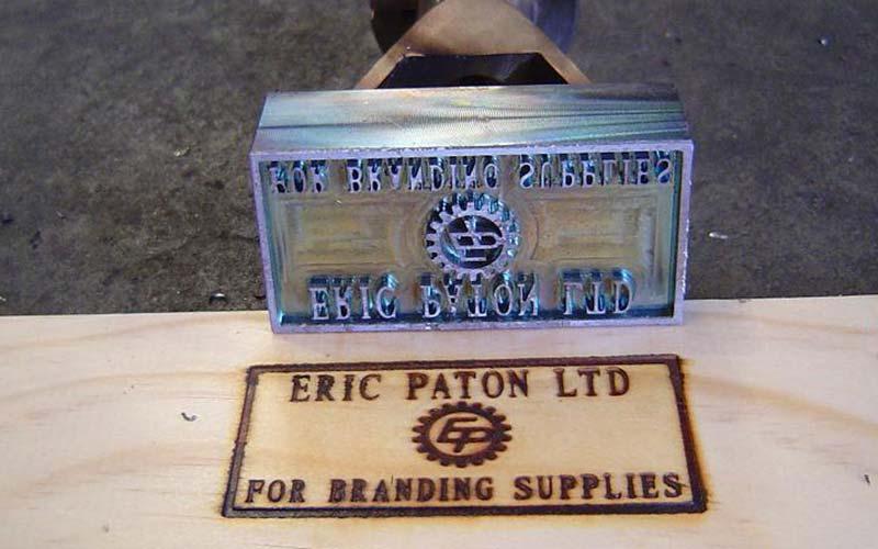 Eric Paton - Branding Iron